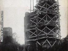 Restauration du château en 1900